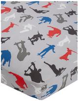 Very Skaters Cotton Rich Single Fitted Sheet