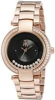 Jivago Women's JV1615 Celebrate Analog Display Swiss Quartz Rose Gold Watch