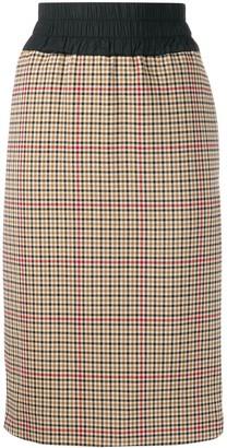 Vivienne Westwood Plaid Print Skirt