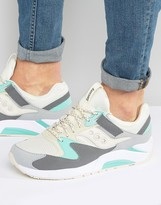 Saucony Grid 9000 Trainers In Grey S70077-53