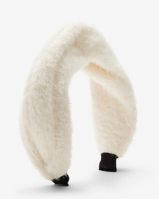 Express Faux Fur Knotted Headband