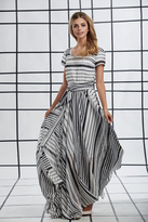 Shabby Apple Zebra Maxi Dress