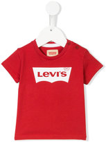 Levi's Kids - logo T-shirt - kids - Cotton - 6 mth