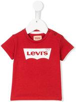 Levi's Kids - logo T-shirt - kids - Cotton - 9 mth