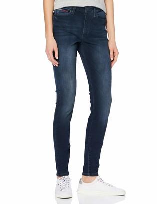 Tommy Jeans Tommy Hilfiger Women's Sylvia Hr Super Skny Jdbst Trouser