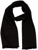 Gucci Wool GG Houndstooth Scarf