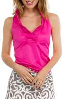 Gretchen Scott Ruffneck Jersey Top