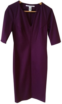Diane von Furstenberg Purple Wool Dresses