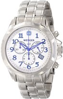 Wenger Men's GST Chrono 78259 Stainless-Steel Swiss Quartz Watch with Dial
