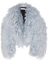 Marni Goat Fur Jacket