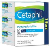 Cetaphil Purifying Facial Bar for All Skin Types, 9 Ounce