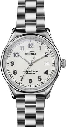 Shinola 38mm Vinton Bracelet Watch