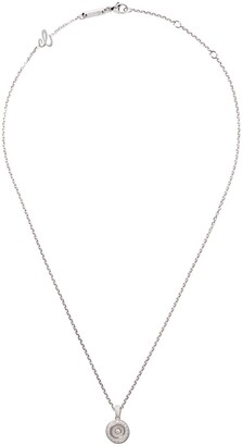 Chopard 18kt white gold Happy Diamonds Icons necklace