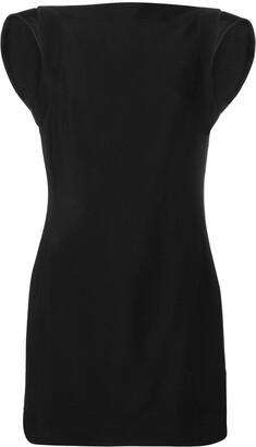 Calvin Klein open back mini dress