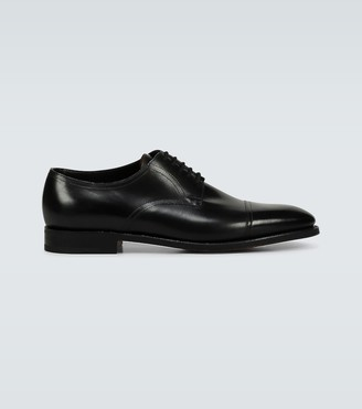 John Lobb Loe leather derby shoes