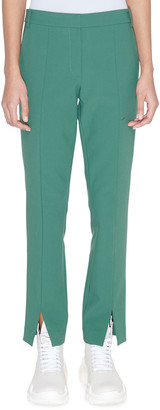 Tibi Menswear Stretch Suiting Cropped Pants