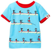 Andy & Evan Animal Rowing Tee (Baby Boys)