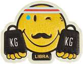 Anya Hindmarch Women's Libra Smiley Sticker-YELLOW, NO COLOR