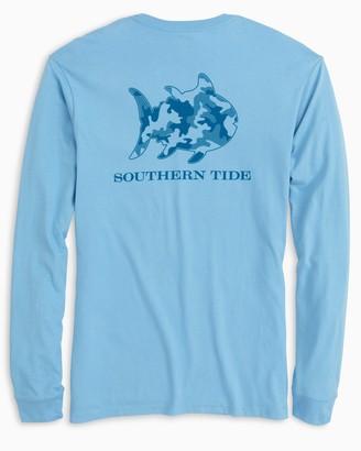 Southern Tide Skipjack Camo Long Sleeve T-Shirt
