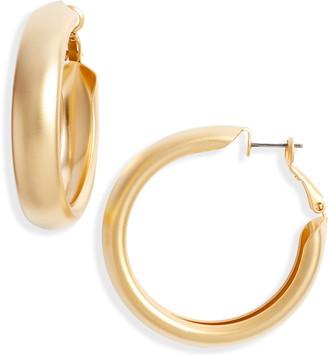 8 Other Reasons Matte Hoop Earrings