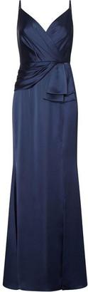 Adrianna Papell Light Satin Dress