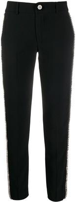 Philipp Plein Spike-Stud Tailored Trousers
