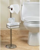 Bed Bath & Beyond Spa Creations Toilet Paper Stand with Wet Wipe Adjustable Shelf