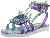 Irregular Choice Girls Crab Gladiator Open Toe Sandals,12 Child UK 30 EU