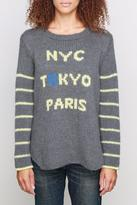 Wooden Ships NYC Tokyo Paris Sweater