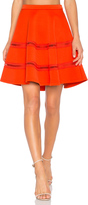 Carven Flowy Mini Skirt