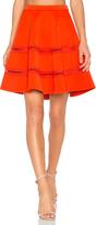 Carven Flowy Mini Skirt