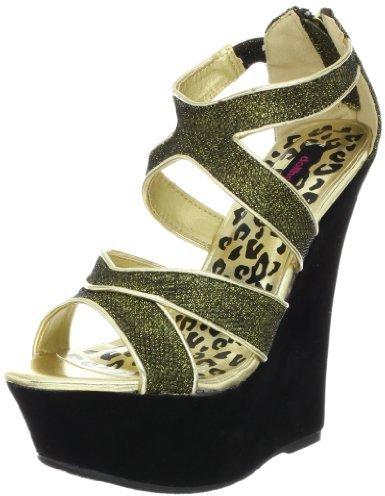 Dollhouse Women's Spicy Platform Sandal