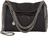 Stella McCartney Women's Mini Baby Bella Shaggy Deer Tote-BLACK