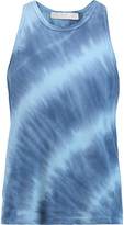 Kain Label Amri tie-dye cotton and modal-blend tank