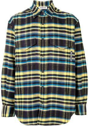Ground Zero Oversize Checked Flannel Shirt