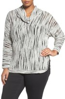 Nic+Zoe Cowl Neck Top (Plus Size)