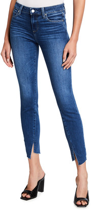Paige Verdugo Ankle Skinny Jeans with Twisted Inseam