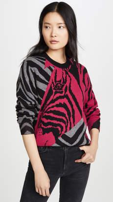 Rag & Bone Cashmere Zebra Pullover