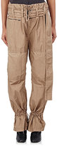 Acne Studios Women's Washed Poplin Cargo Pants-BEIGE, TAN