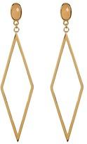 Gorjana Dez Diamond-Shape Drop Earrings