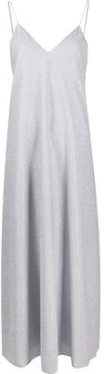 Oseree Glittered Slip Dress