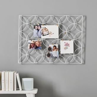 Pottery Barn Teen Floral Wire Photo Grid