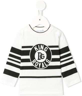 Dolce & Gabbana Kids DG Royals print sweatshirt