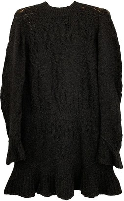 Theyskens' Theory Anthracite Wool Dress for Women