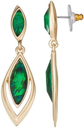 Dana Buchman Double Drop Post Earrings