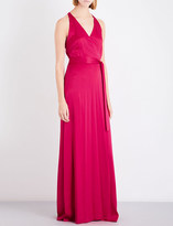Diane von Furstenberg Belted silk maxi dress