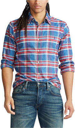 Polo Ralph Lauren Men Performance Flannel Long Sleeve Shirt