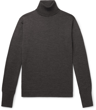 Officine Generale Nina Virgin Wool Rollneck Sweater