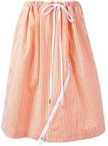 Jil Sander striped skirt