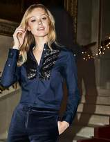 Boden Virginie Sequin Shirt